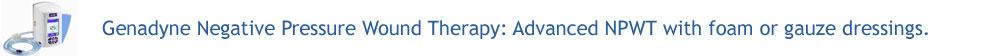 Genadyne Negative Pressure Wound Therapy